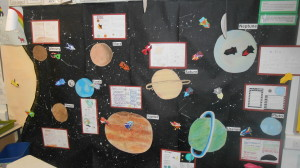 Primary 6/7 have spent a term studying Space.